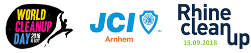 JCI Arnhem joins World Cleanup Day and Rhine cleanup